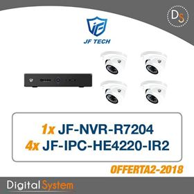 Immagine di 002 KIT TVCC JF TECH IP COMPOSTO DA: