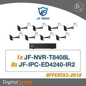 Immagine di 003 KIT TVCC JF TECH IP COMPOSTO DA: