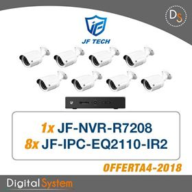 Immagine di 004 KIT TVCC JF TECH IP COMPOSTO DA: