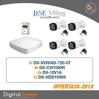 Picture of 024 KIT DSE VISION HD COMPOSTO DA:
