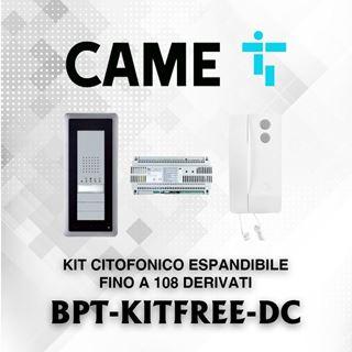 Picture of BPT KIT FREE-DC CITOFONICO ESPANDIBILE FINO A 108 DERIVATI