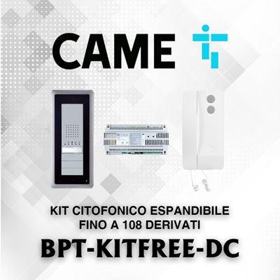 Immagine di BPT KIT FREE-DC CITOFONICO ESPANDIBILE FINO A 108 DERIVATI