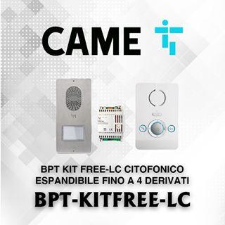 Picture of BPT KIT FREE-LC CITOFONICO ESPANDIBILE FINO A 4 DERIVATI