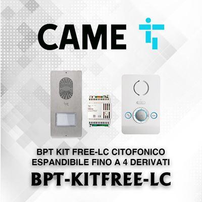 Immagine di BPT KIT FREE-LC CITOFONICO ESPANDIBILE FINO A 4 DERIVATI