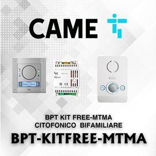 Picture of BPT KIT FREE-MTMA CITOFONICO  BIFAMILIARE