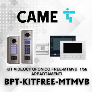 Picture of BPT KIT FREE-MTMVB  1/56 APPARTAMENTI VIDEOCITOFONICO