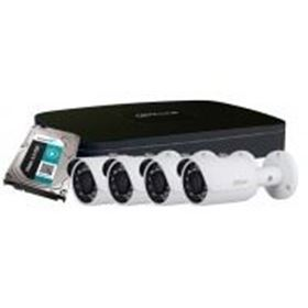 Picture of Kit 4 canali IP/PoE con 4 IR camera + HDD 1TB