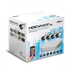 Immagine di Kit 8 canali HDCVI con 4 IR camera + HDD 1TB