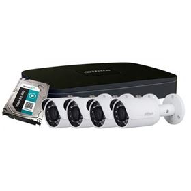 Picture of Kit 8 canali IP/PoE con 4 IR camera + HDD 1TB