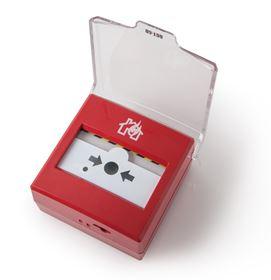 Picture of Pulsante manuale di allarme analogico indirizzato ripristinabile. Per uso intern