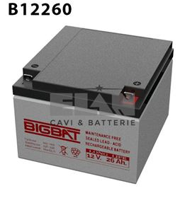 Picture of  BATTERIA 12V 12AH MKC