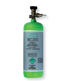 Picture of Bombola gas monouso, da 2 L.. Monossido di carbonio 300ppm in azoto. 30 bar. Vol